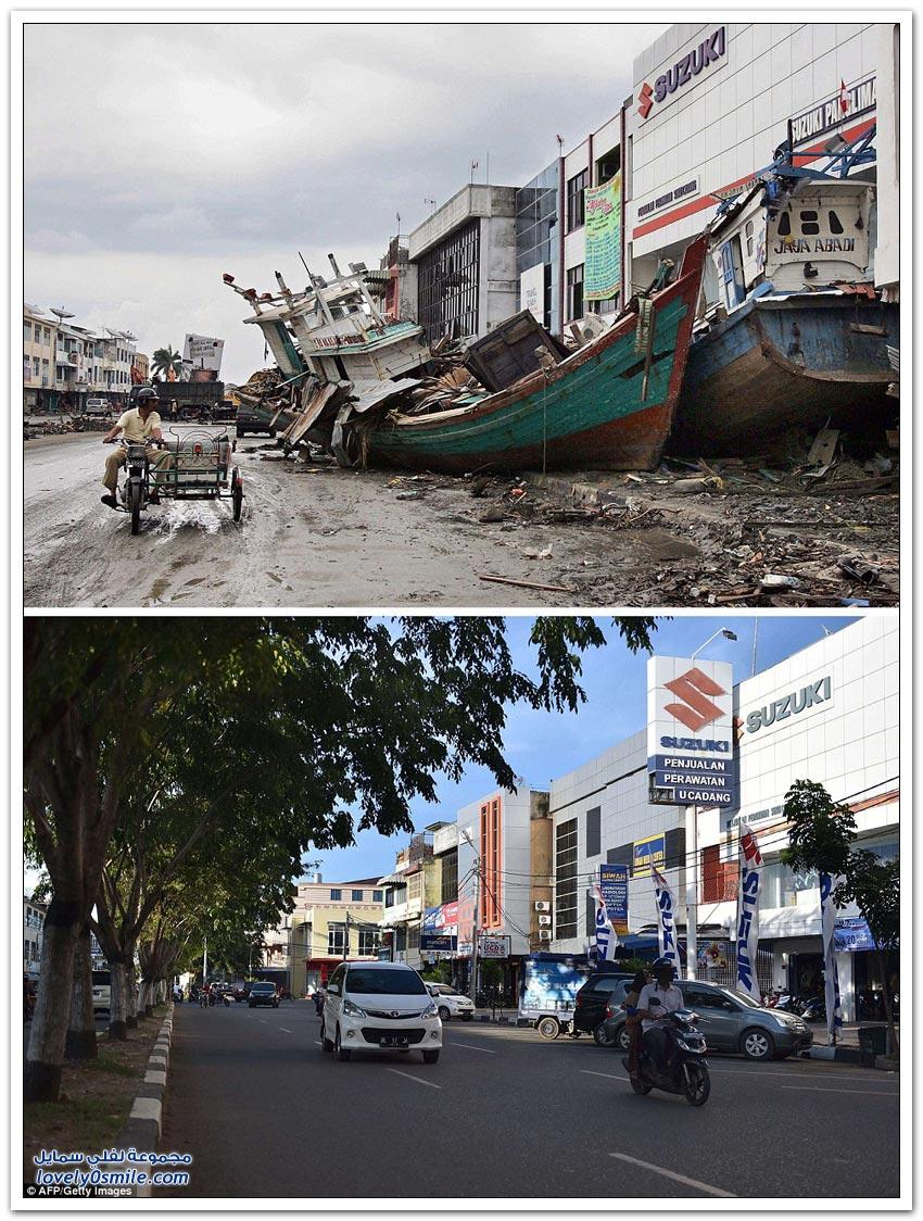 إندونيسيا بعد 10 سنوات من التسونامي