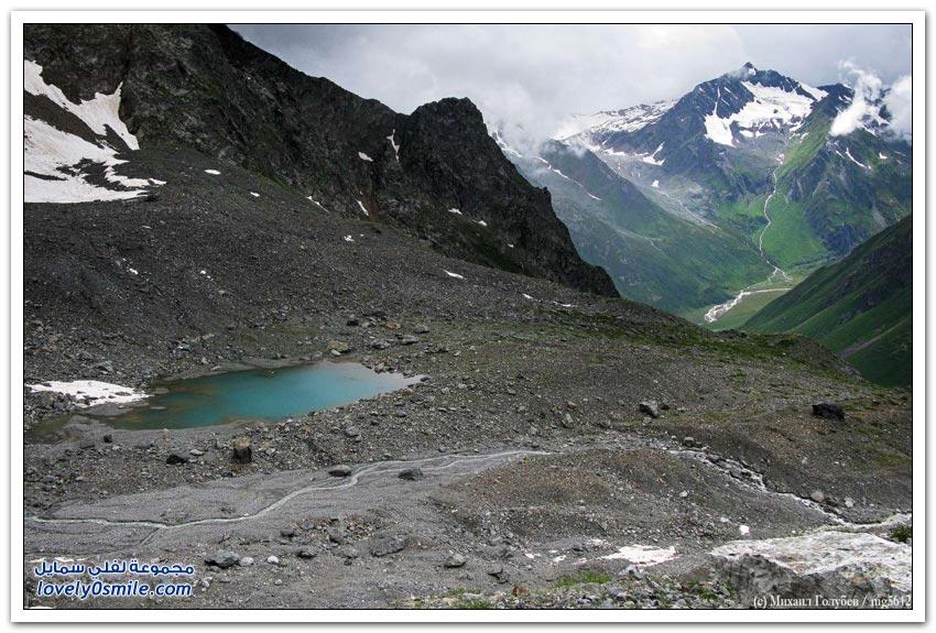 رحلة إلى قلب جبال جورجيا - سفانيتي