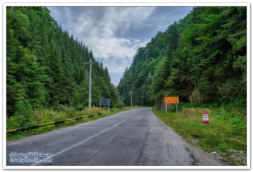 طريق ترانسفاغراشان واحدة من الطرق الأكثر جمالاً في أوروبا