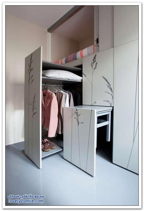 شقة في باريس تبلغ مساحتها 8 متر مربع