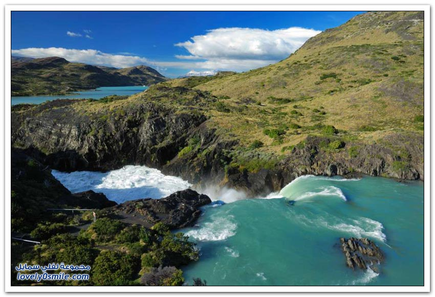 حديقة توريس ديل باين الوطنية في تشيلي