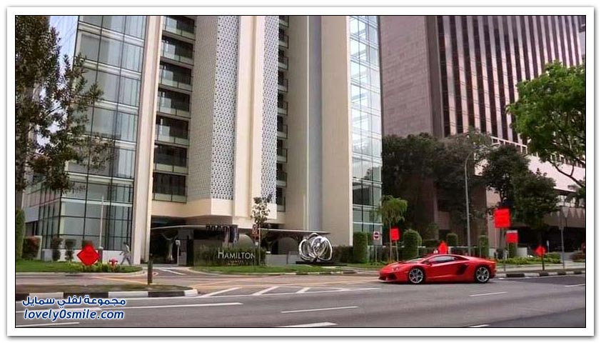 الشقق الفاخرة في سنغافورة بجراج خاص بالسيارة بجانب الشقة