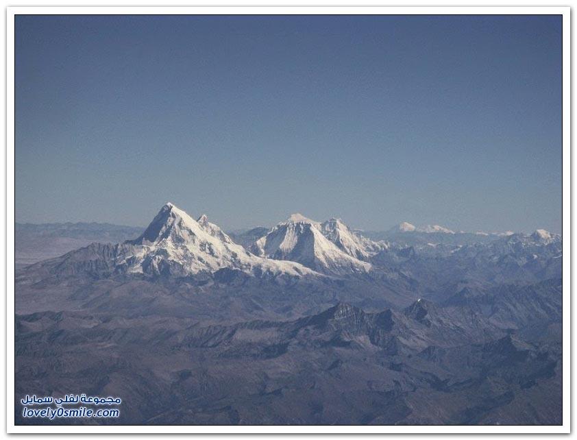 أعلى قمة جبل في العالم