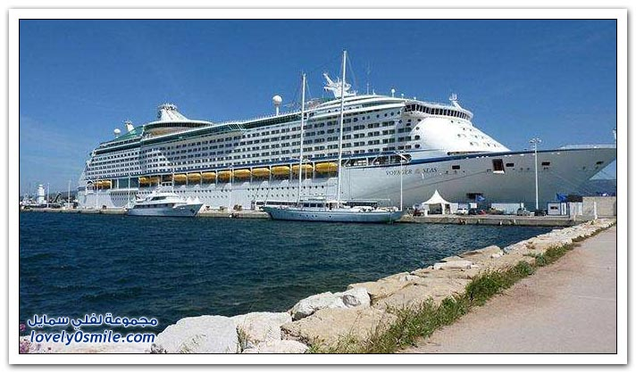 أكبر سفن نقل الركاب في العالم