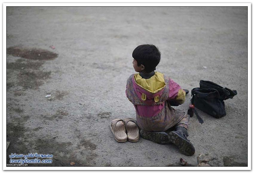 صبي الأحذية