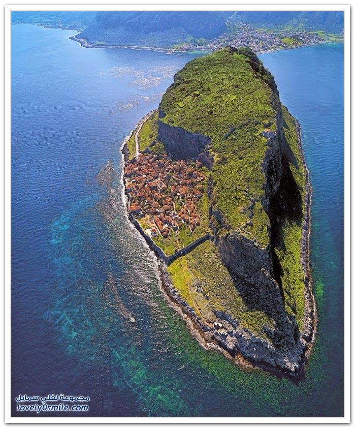 المدينة المخفية في جزيرة بيلوبونيز