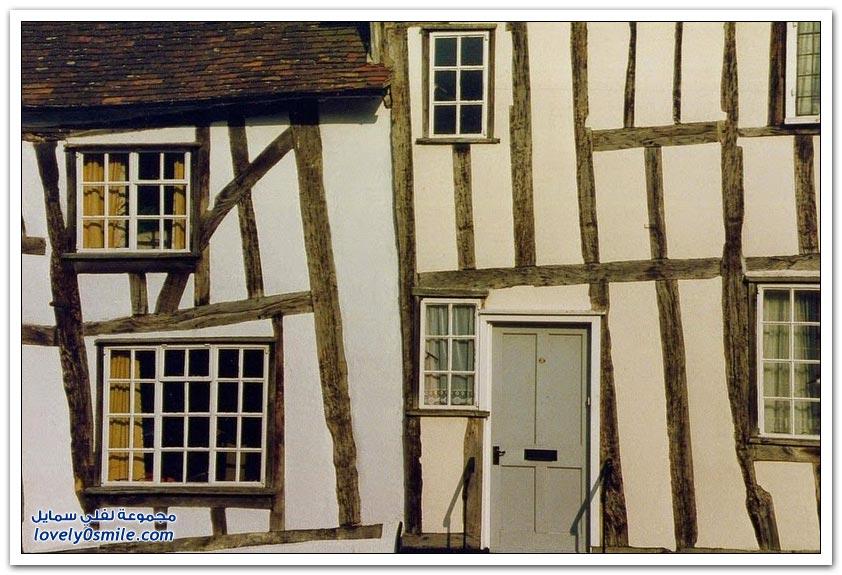 المنازل المائلة في لافينهام