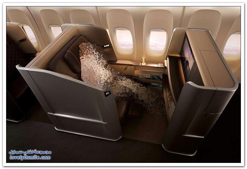 سباق الفخامة بين خطوط الطيران