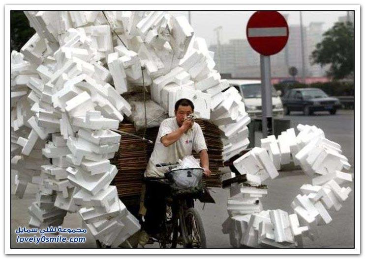 طُرُق النقل في بعض دول العالم