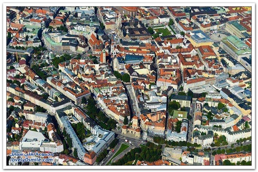 جولة جوية على مدينة ميونيخ