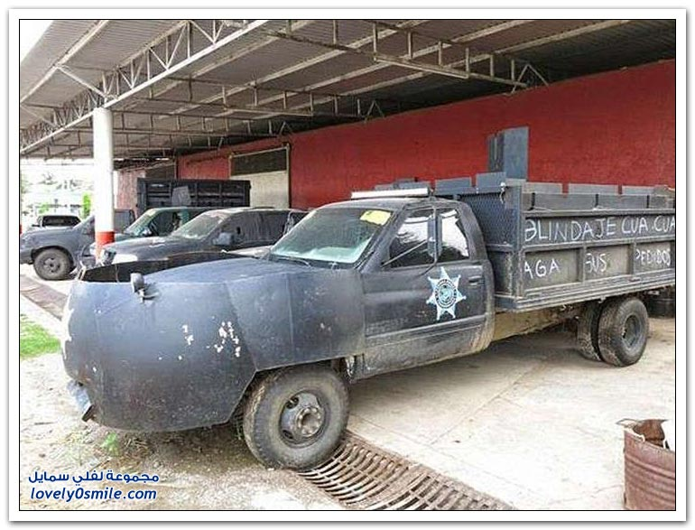 آلات قسم مكافحة المخدرات في المكسيك