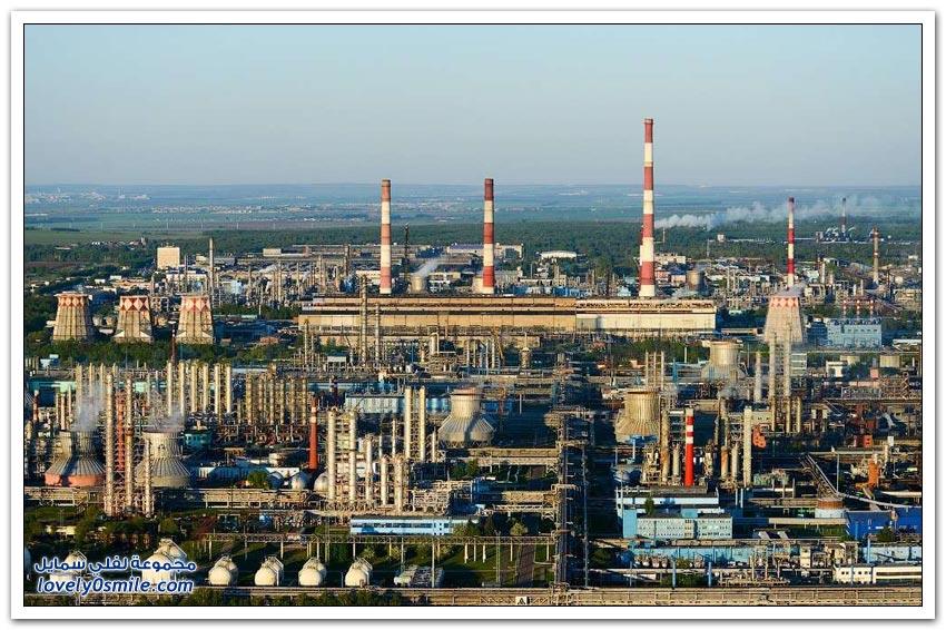 مدينة البتروكيماويات نيجنكامسك في جمهورية تتارستان