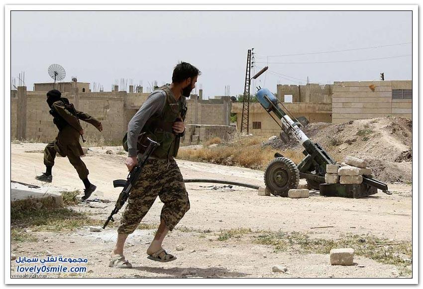 أسلحة المعارضة السورية محلية الصنع