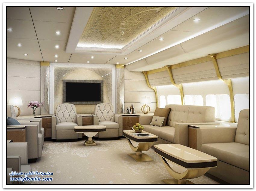 تعديلات على طائرة بوينج لتشبه القصر في فخامتها