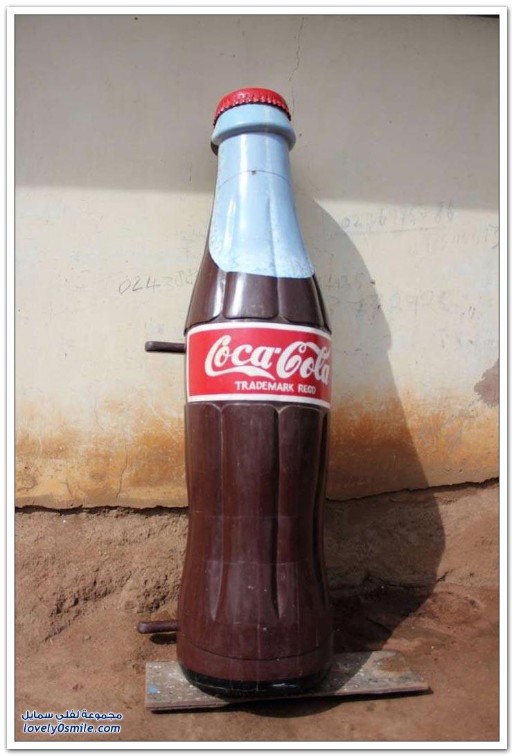 توابيت مختلفة الأشكال في غانا