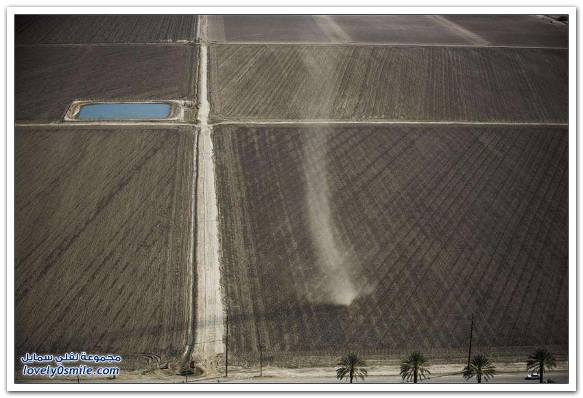 الجفاف في ولاية كاليفورنيا
