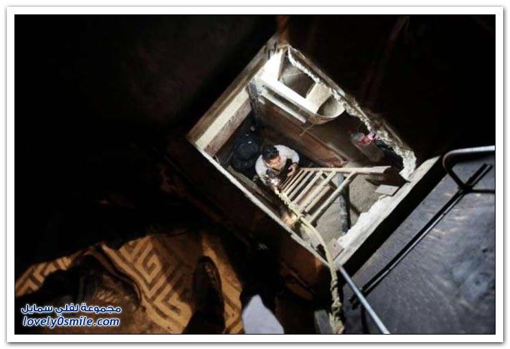 نفق لتهريب المخدرات بين أمريكا والمكسيك