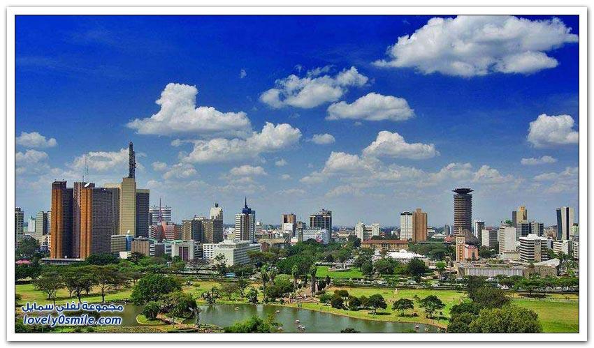 مناظر رائعة لمدن أفريقية
