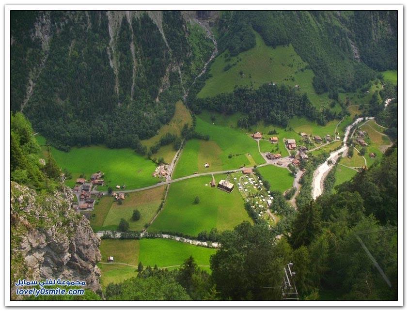 وادي وتيربرونين في سويسرا