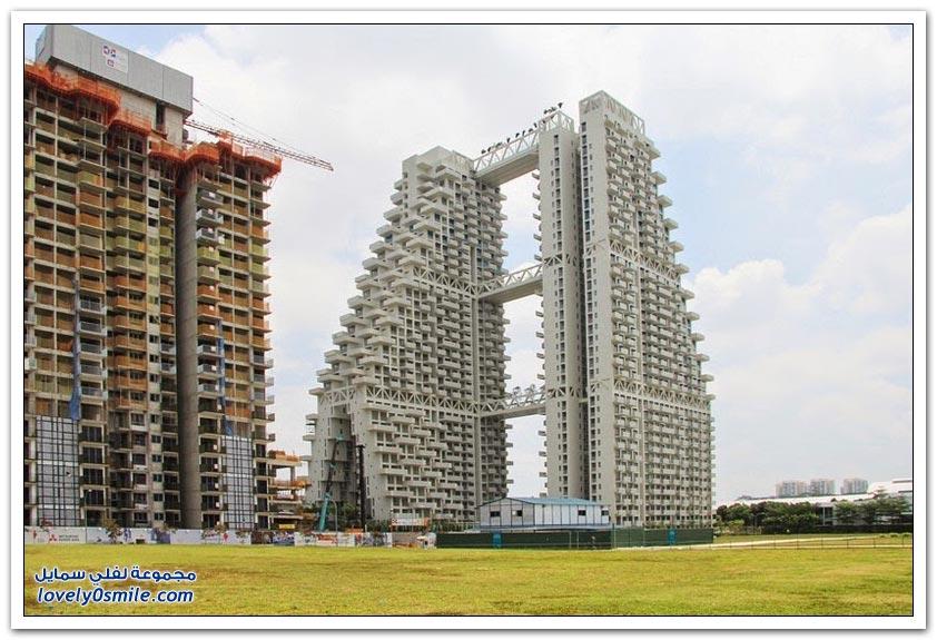 برج Sky Habitat في سنغافورة