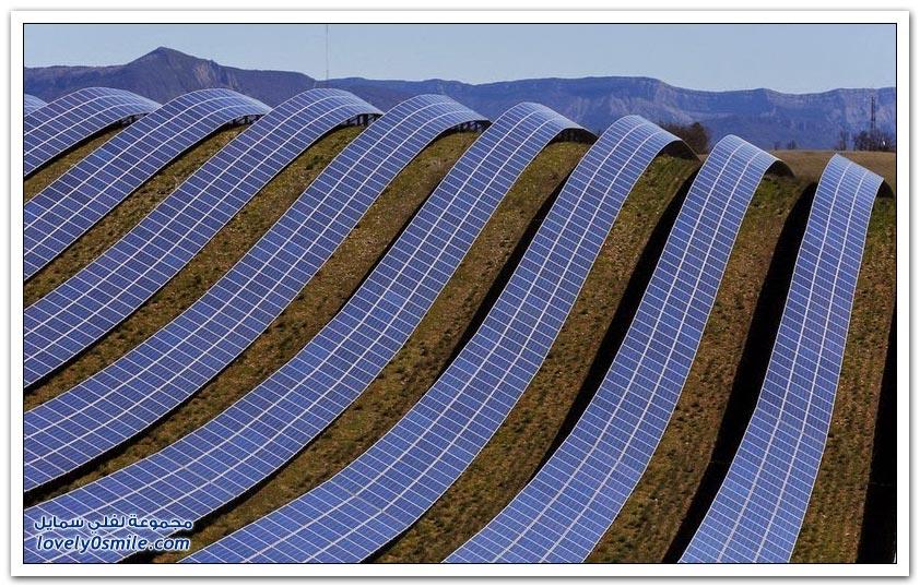 أكبر محطة لإنتاج الطاقة الشمسية في جنوب فرنسا