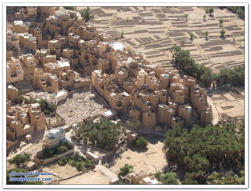 المباني الطينية الأثرية في وادي حضرموت
