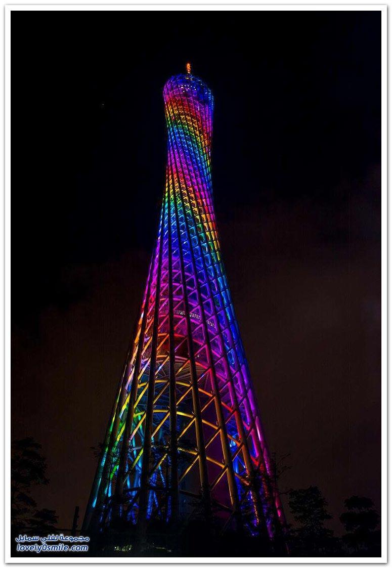 برج كانتون أطول برج في الصين