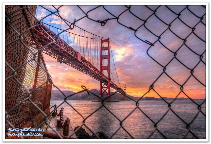 جولدن جيت الجسر الأكثر تصويراً في العالم
