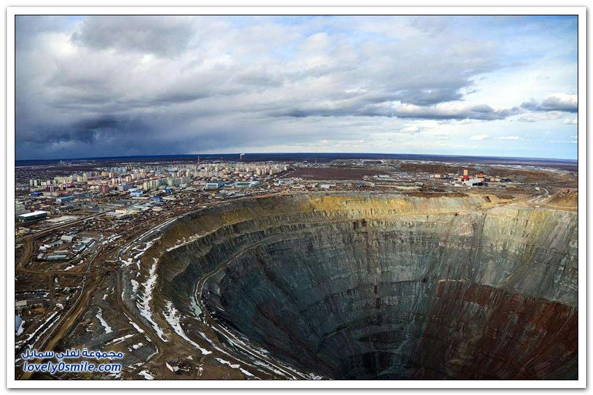 كيفية استخراج الألماس في روسيا؟