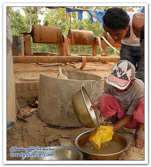 كيفية استخراج الذهب في جزيرة لومبوك، أندونيسيا