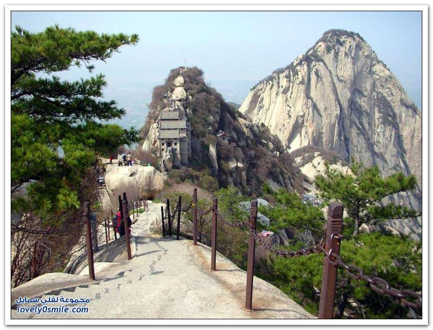 جبل هوا شان في الصين