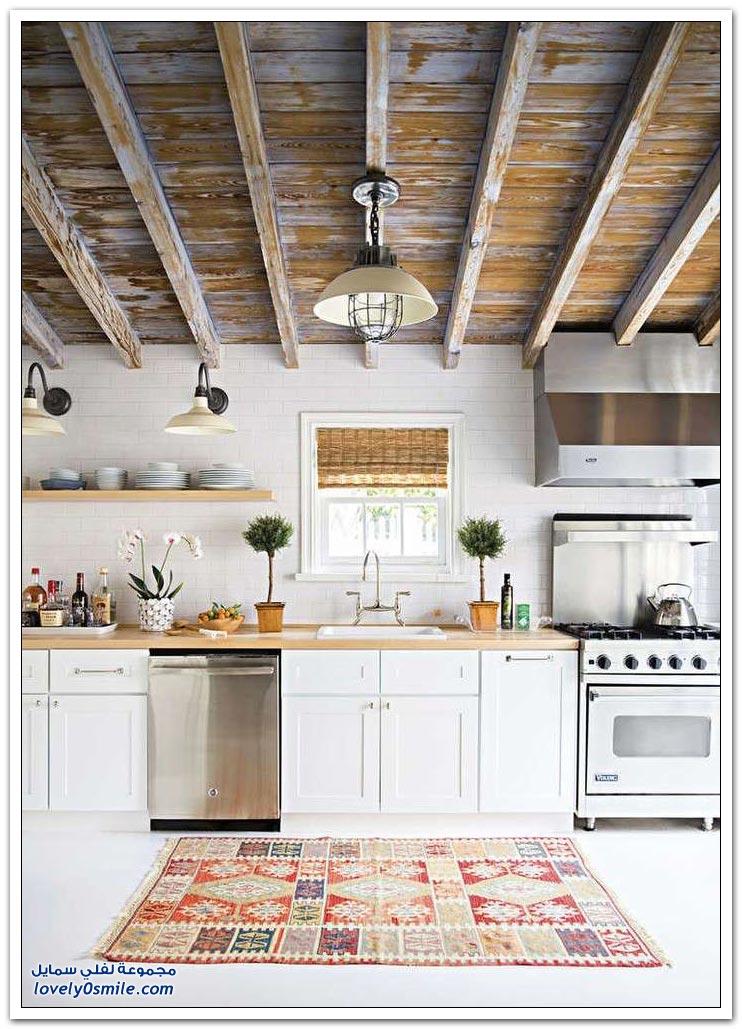 مطابخ رائعة مصنوعة من الخشب