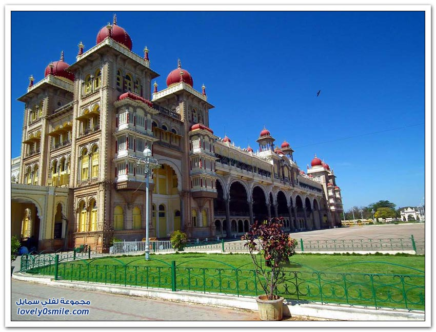 قصر مايسور في الهند
