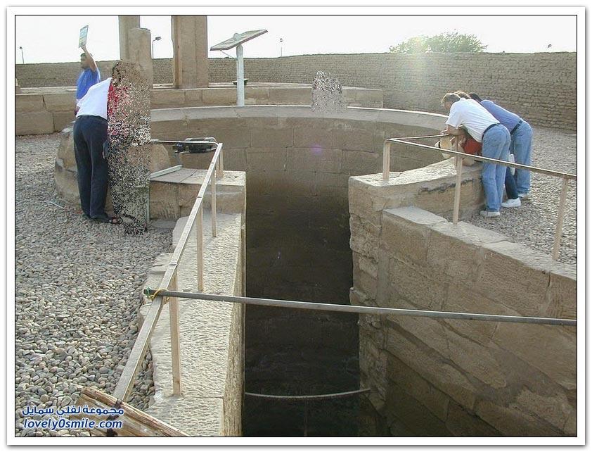 طريقة قياس مستوى نهر النيل قديم