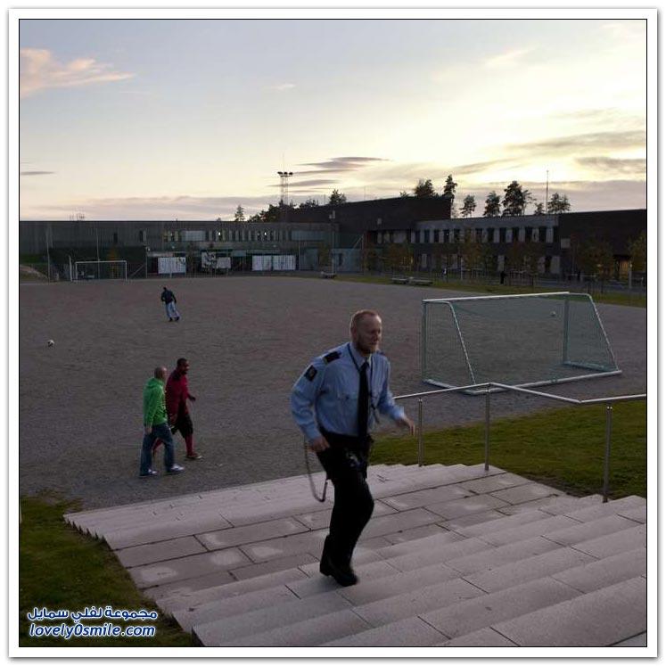 جانب من الحياة داخل أحد السجون النرويجية