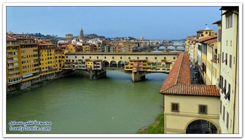 جسر بونتي فيكيو في فلورنسا