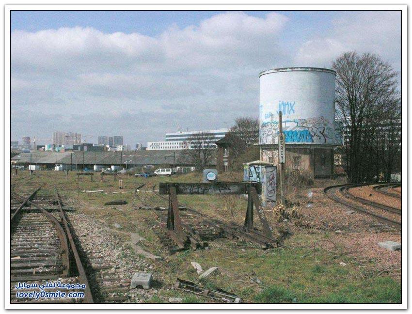 سكك الحديد المهجورة في باريس