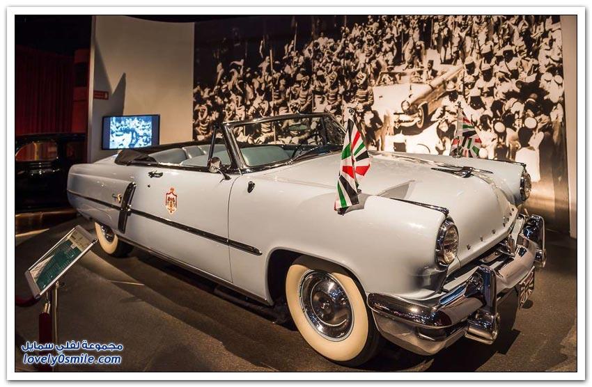 متحف السيارات الملكي الأردني
