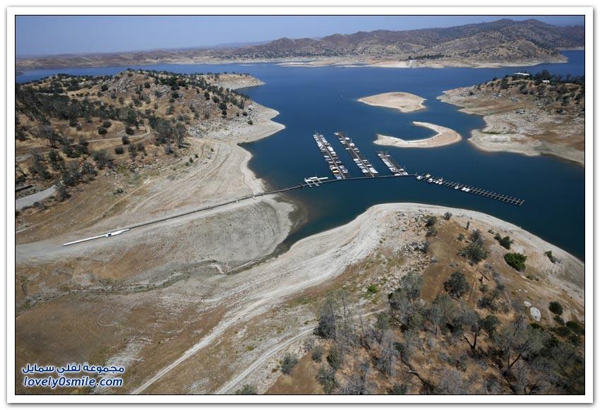 العواقب المروعة من الجفاف في ولاية كاليفورنيا