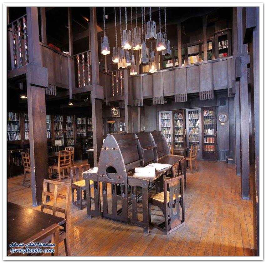 المكتبات الأكثر جمالا في العالم