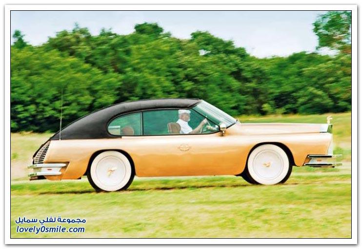 ترهيم سيارة صُنعت عام 1967م من النادر أن تشاهد مثلها