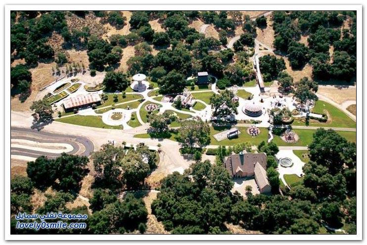 مزرعة مايكل جاكسون للبيع بقيمة 100 مليون دولار