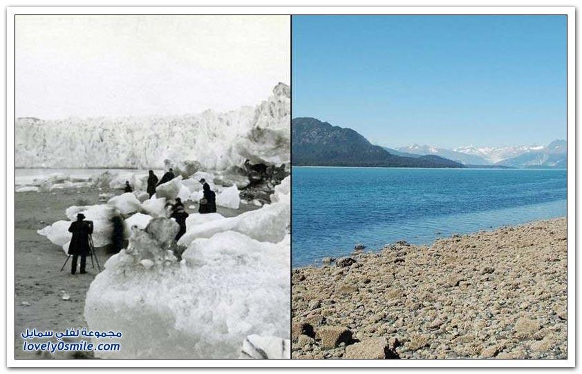 التغيرات المناخية على كوكب الأرض بين الماضي والحاضر