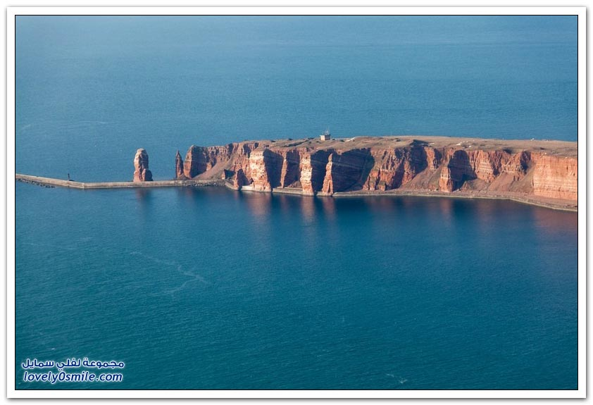 جزيرة هيلغولاند الألمانية