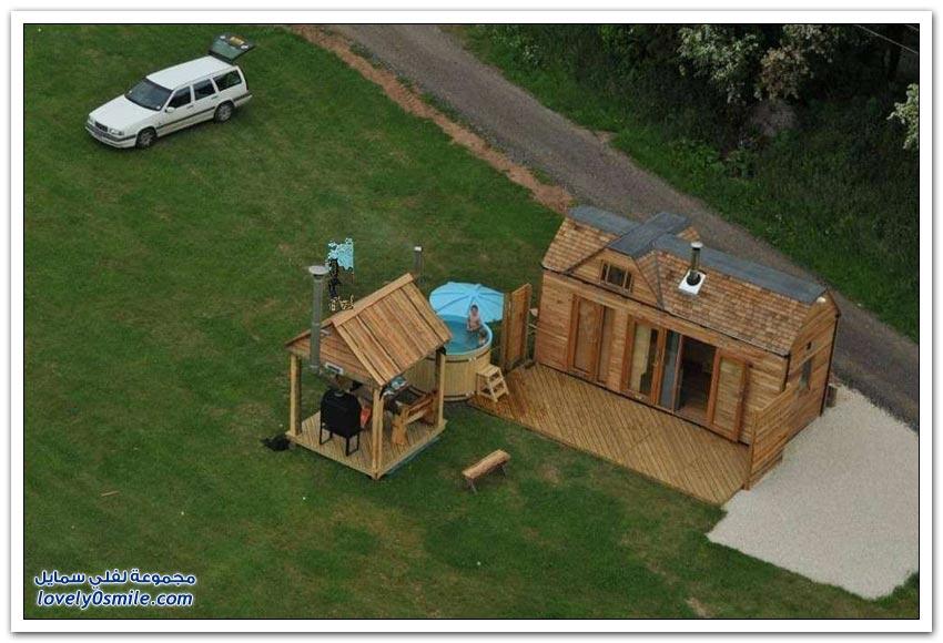 منزل مساحته 12 متر مربع قد يعيش فيه خمس أشخاص