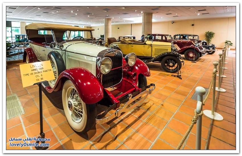 متحف سيارات أمير موناكو