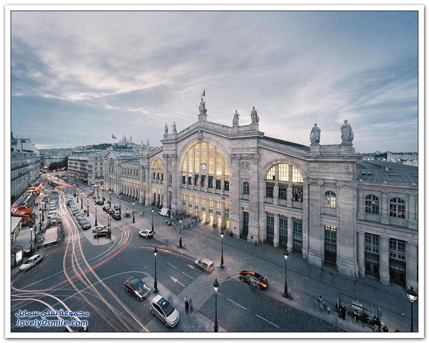 محطات السكك الحديدية في بعض دول العالم