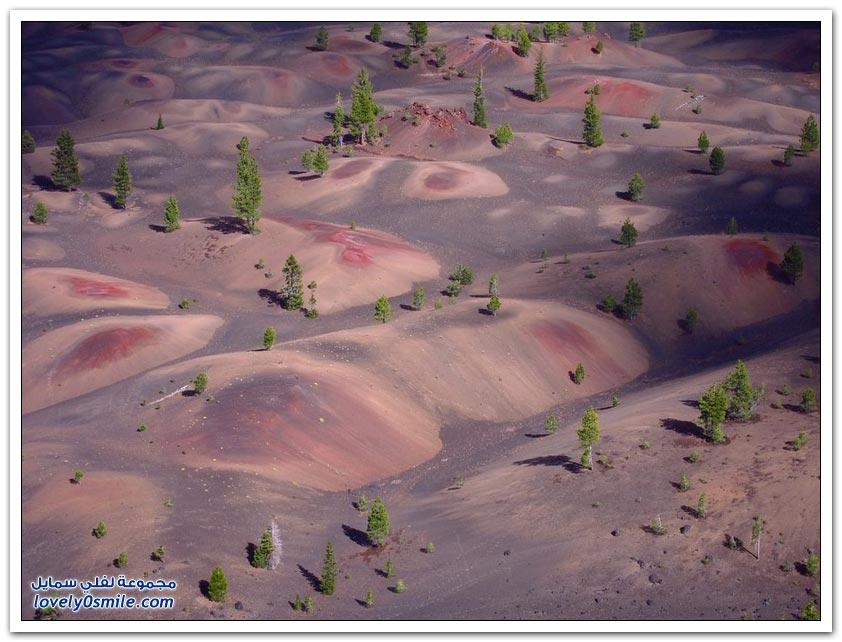 الكثبان الرملية في حديقة لاسين الوطنية
