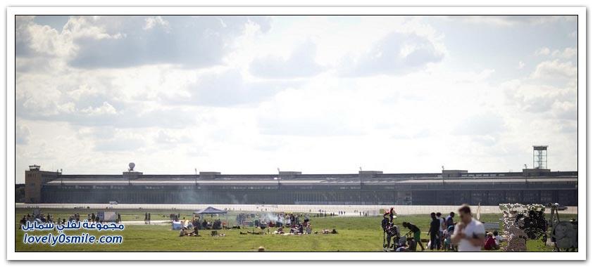 مطار تمبلهوف في ألمانيا حُوِلَ لأكبر حديقة في برلين