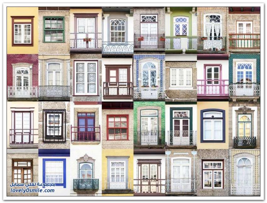نوافذ بعض المدن في أوروبا